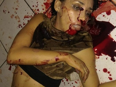woman shoot dead by husband