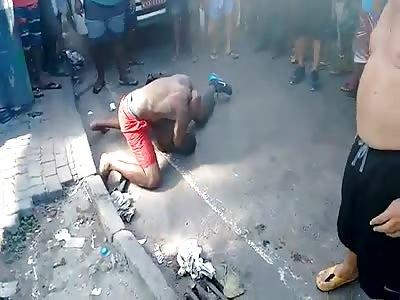 Brazilian True fight in Carnival