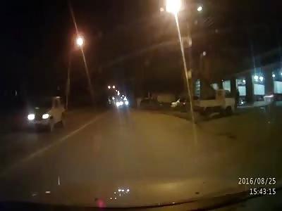 ДТП на дороге Южно-Сахалинска
