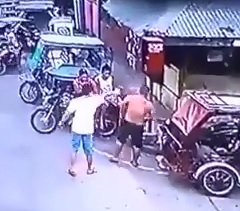 Brutal Point Blank Murder caught on CCTV...Nonchalant Hitman