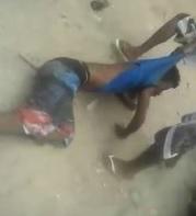 Kid in Blue Shirt Beaten to Death