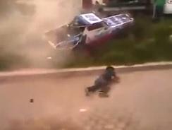 Spectators Struck by Car During Race