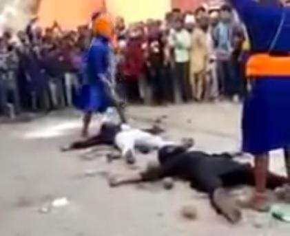 Bizarre Ritual Leads to Horrific Accident