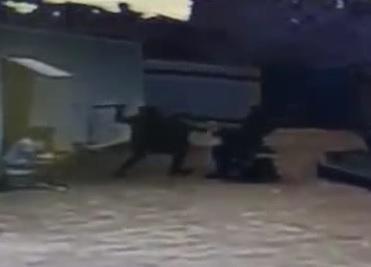 Savage Machete Attack at a Motel