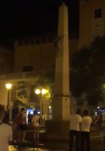 Soccer fan almost kills himself during celebration