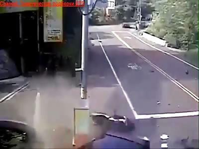 motorbike crash compilation