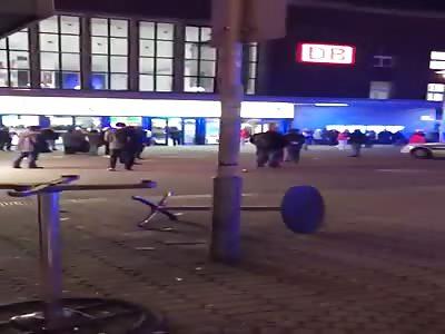 Düsseldorf Central Station Amokrun 09.March 2017