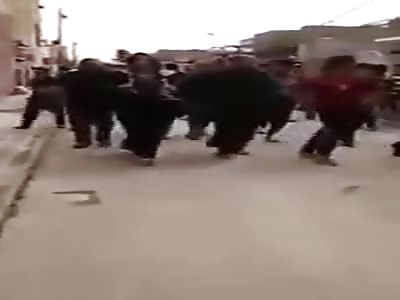 Arab girls getting punishment by men