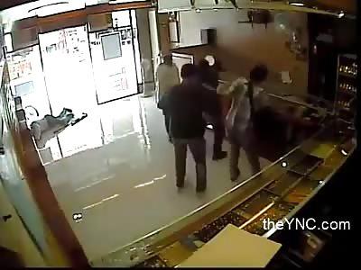 Killing a guard during an assault