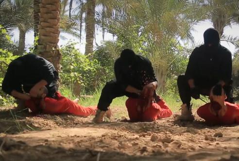 ISIS Execution Video from Wilayat al-Furat Brutal Beheadings
