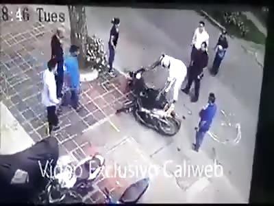 THE END OF A CRIMINAL CARRER