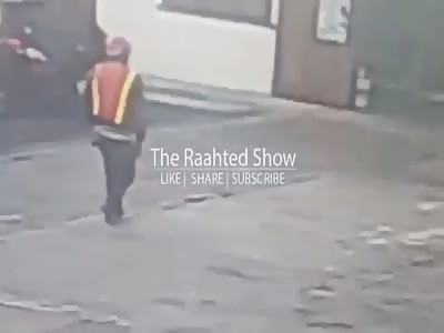 BUSINESS MAN MURDER CAUGHT ON CAMERA