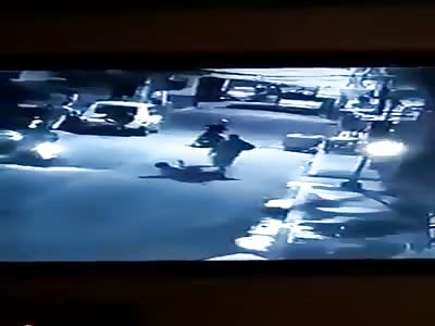Riding in tanem killed a drug Suspect.