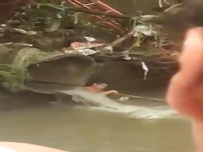 body found in river