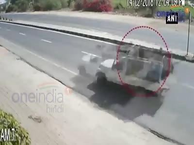 Brutal Accident .(CCTV)