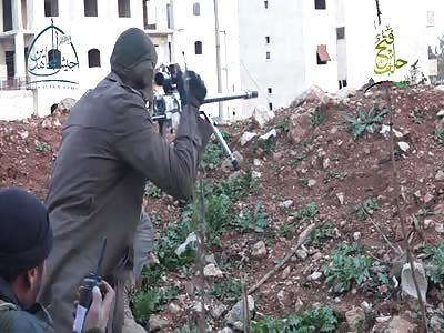Sniper Makes Incredibly Lucky Kill Shot