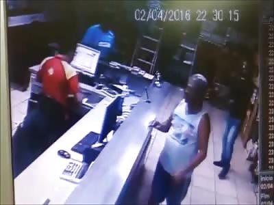 Businessman reacts to assault, leaves quadriplegic villain and then dies