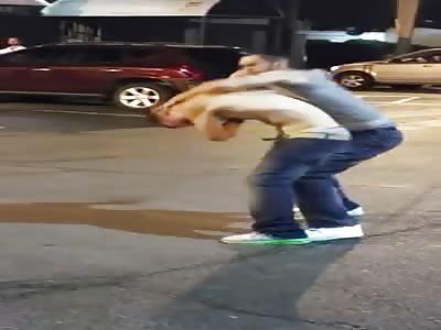 drunken brawl