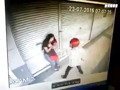 robbery with machete