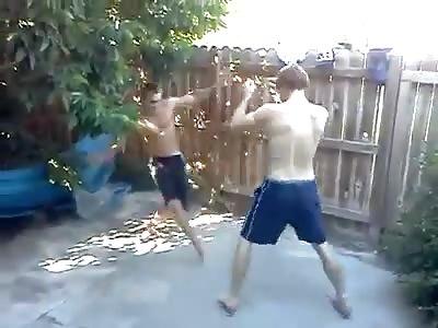 Men's fight