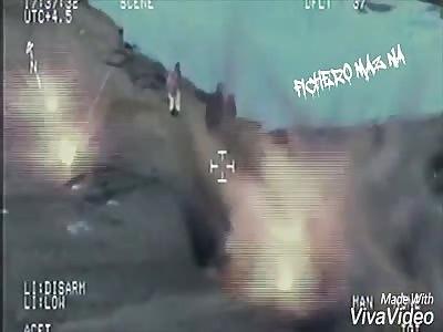 A-10 Warthog Liquifies Taliban Machine Gun Team