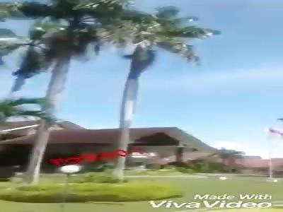 A hard fall