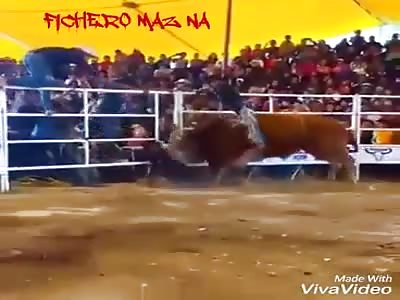 Cowboy accident