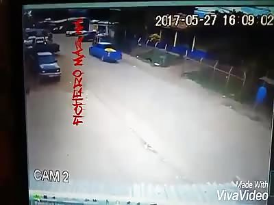 Cyclist run over