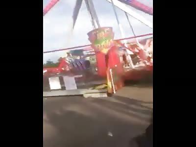Ohio state fair accident close up