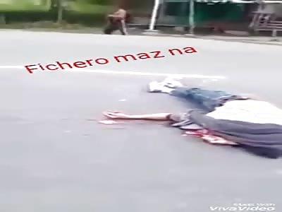 Nice accident gore