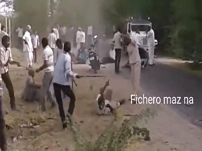 fun celebration somewhere in india