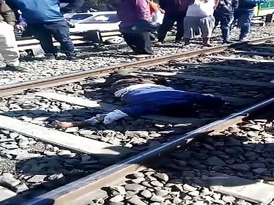 DEAD MAN IN TRAIN VIES