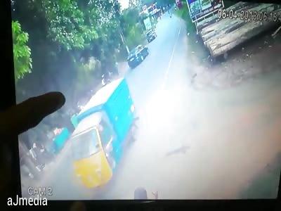 ACCIDENT CCTV