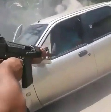 Brutal Execution of Rival Gang Member in Venezuela