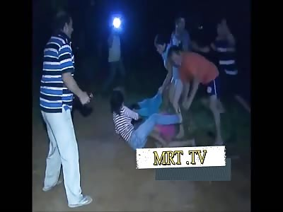 Family Gipsy fight