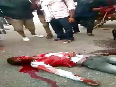 accident  Gangapur city