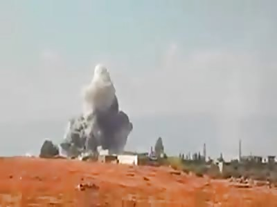 Devestating Footage of russian airstrikes 2016