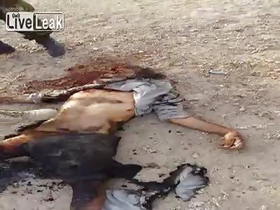 IRAQ - ISIS Eye To Eye