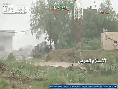 Houthi ATGM bonanza against Saudis