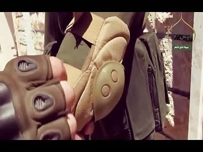 THE SNIPER, FSA/SYRIAN MUJAHIDEEN (SUNNI) VS SYRIAN MERCENARIES (SHIA)