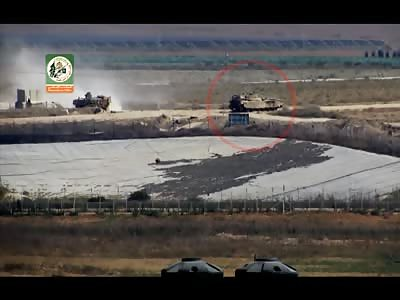 Targeting eastern Shijia mechanism missile Cornet _ Martyr Izz el-Deen al-Qassam Brigades