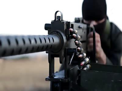 FSA Slave Killed by Browning Machine Gun