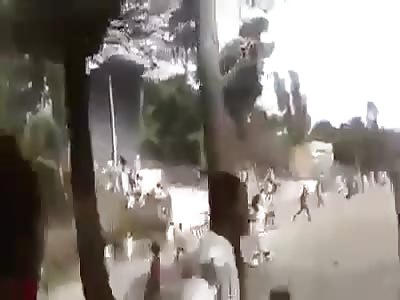 Hundreds Killed Irrecha Massacra After Ethiopian Government Sucked Dick of Putin Obama Merkel Xi and Assad