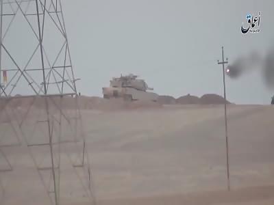 ATGM vs Abrams South of Mosul