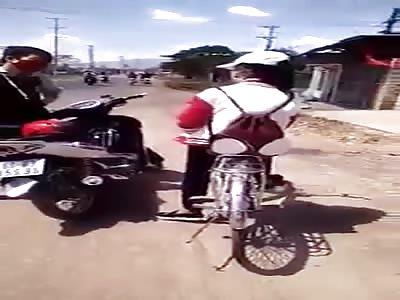 Vietnamese Violent Road Rage!