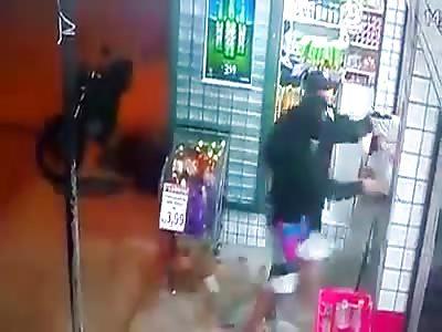 Policeman Shot Dead