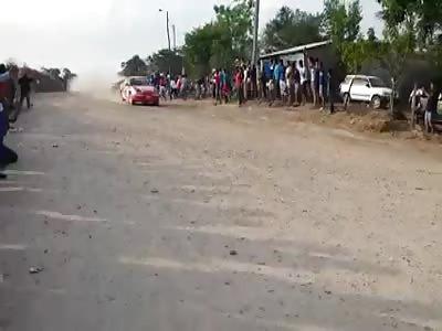 Race Car Crashes into the Crowd Killing 3 Spectators