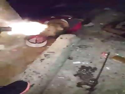 Gang war ending with a Bloody Massacre in El Valle, Caracas, Venezuela.