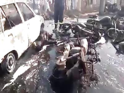 After blast