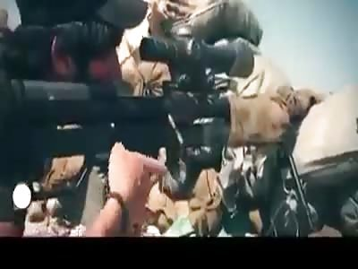 Veteran Iraqi sniper taking on ISIS